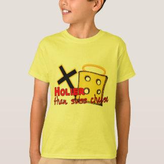 Heiliger als Schweizer Käse T-Shirt