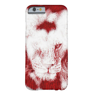Heiliger Blut-Löwe-Tier-Kunst iPhone 6/6s Fall Barely There iPhone 6 Hülle