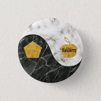 Heiliger Chao Knopf Runder Button 3,2 Cm