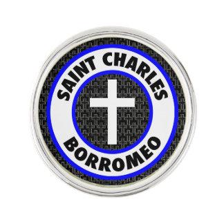 Heiliger Charles Borromeo Anstecknadel
