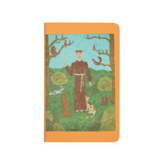 Heiliger Franziskus von Assisi Taschennotizbuch