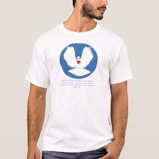 Heiliger Geist abgestiegen wie eine Taube T-Shirt