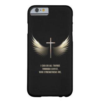 Heiliger Geist Flügel und christliches Barely There iPhone 6 Hülle