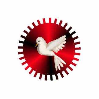 Heiliger Geist Taube Freistehende Fotoskulptur