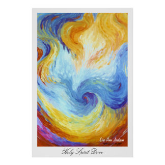 Heiliger Geist Taube Poster