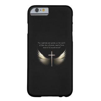 Heiliger Geist und christliches Kreuz mit Barely There iPhone 6 Hülle
