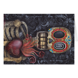Heiliger Herz-Tag der Toten Karte