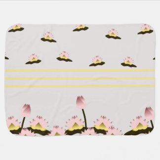 Heiliger Lotos-Blume Babydecke