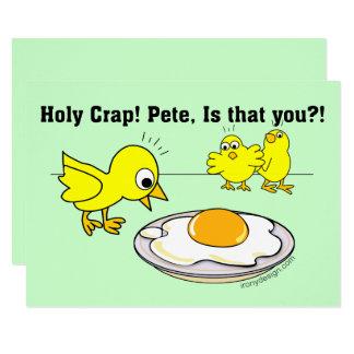 Heiliger Mist! Peter, ist dass Sie? 8,9 X 12,7 Cm Einladungskarte