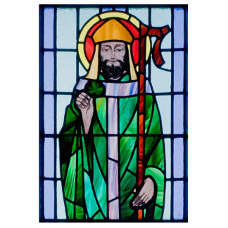 Heiliger Patrick-Fenster Freistehende Fotoskulptur