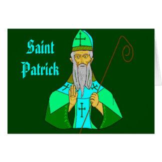 Heiliger Patrick Karte