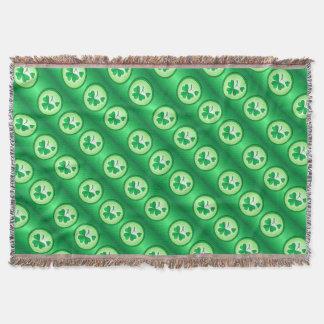 Heiliger Patrick-Kleeblatt Decke