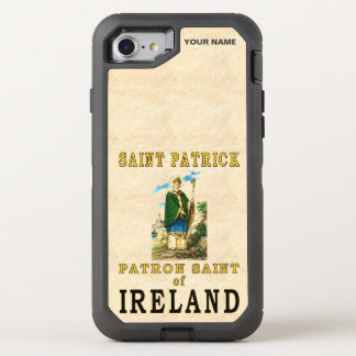 HEILIGER PATRICK (Schutzpatron von Irland) OtterBox Defender iPhone 8/7 Hülle