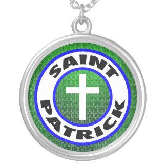 Heiliger Patrick Versilberte Kette