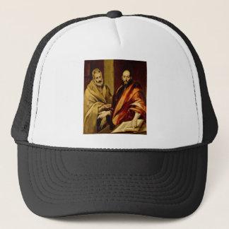 Heiliger Peter und Paul durch El Greco Truckerkappe