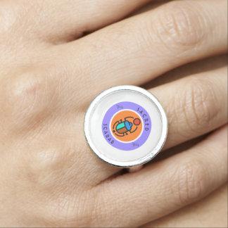 Heiliger Scarabäus Ring