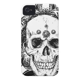 Heiliger Schädel-MetallGoth iPhone 4 Fall Case-Mate iPhone 4 Hülle