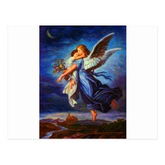 Heiliger Schutzengel - Öl des Schutzengels 7 Postkarte