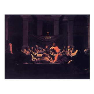 Heiliges Abendmahl Nicolas Poussin- Postkarte