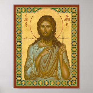 Heiliges Alexis der Mann des Gottes Poster
