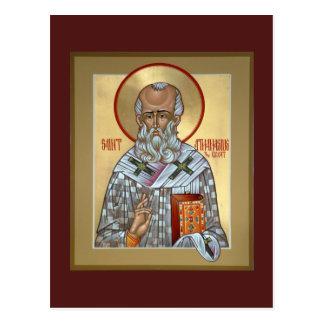 Heiliges Athanasius Gebets-Karte Postkarte