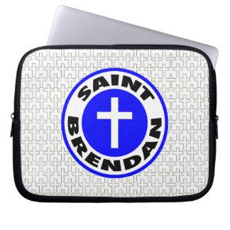 Heiliges Brendan Laptop Sleeve