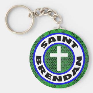 Heiliges Brendan Schlüsselanhänger