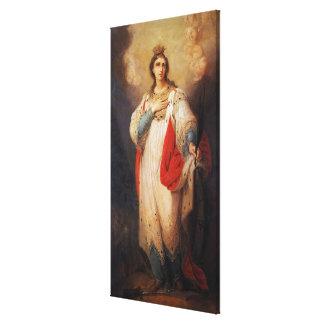 Heiliges Catherine Leinwanddruck