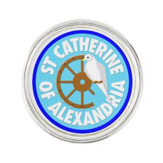 Heiliges Catherine von Alexandria Anstecknadel