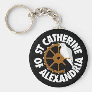 Heiliges Catherine von Alexandria Schlüsselanhänger
