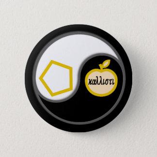 Heiliges Chao Runder Button 5,1 Cm