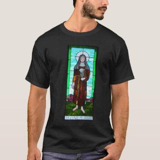 Heiliges Clare der Assisi Shirtmänner T-Shirt