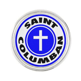 Heiliges Columban Anstecknadel