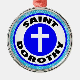 Heiliges Dorothy Silbernes Ornament