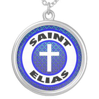 Heiliges Elias Versilberte Kette