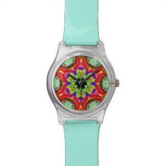 """Heiliges Geometrie-""""Stammes- Gesichts-"""" Handgelenk Armbanduhr"""
