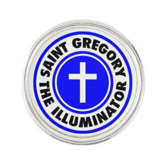 Heiliges Gregory die Belichtungseinheit Anstecknadel