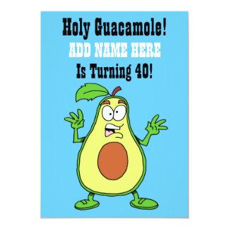 Heiliges Guacamole jemand dreht Avocado 40 Karte