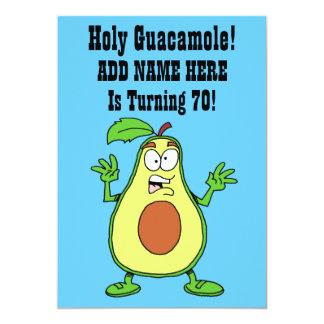 Heiliges Guacamole jemand dreht Avocado 70 Karte