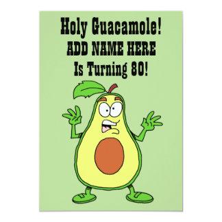 Heiliges Guacamole jemand dreht Avocado 80 Karte