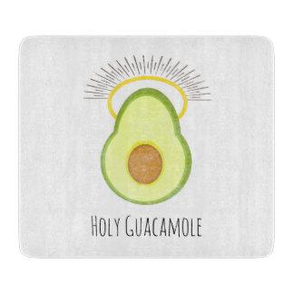 Heiliges Guacamole, lustig Schneidebrett