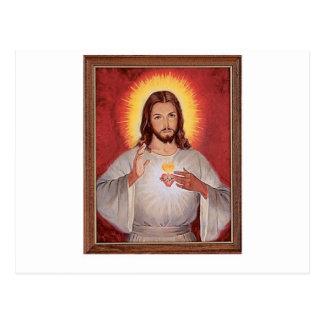 Heiliges Herz Jesuss Postkarte