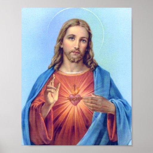 Heiliges Herz-Plakat