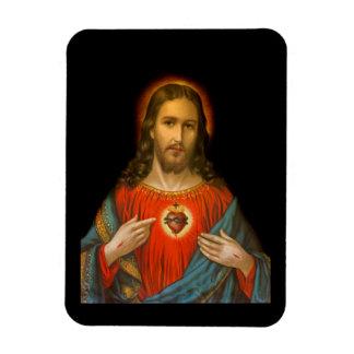Heiliges Herz von Jesus c1899 Magnet
