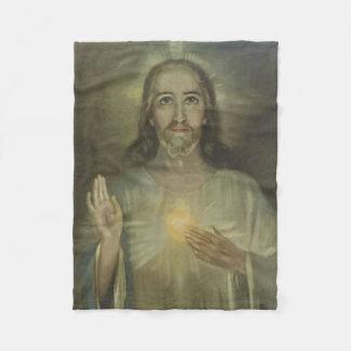 Heiliges Herz von Jesus-Inthronisation Fleecedecke