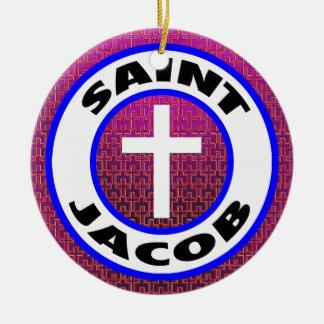 Heiliges Jakob Keramik Ornament
