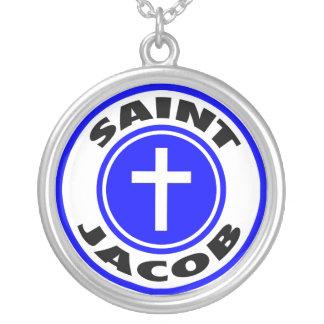 Heiliges Jakob Versilberte Kette