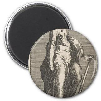 Heiliges Jehuda (oder Heiliges Matthias) Runder Magnet 5,7 Cm