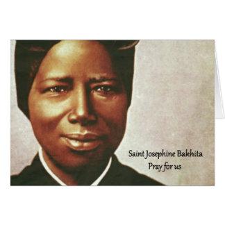 Heiliges Josephine Bakhita Sklavennonne Karte