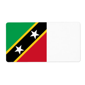 Heiliges Kitts und Nevis-Flagge